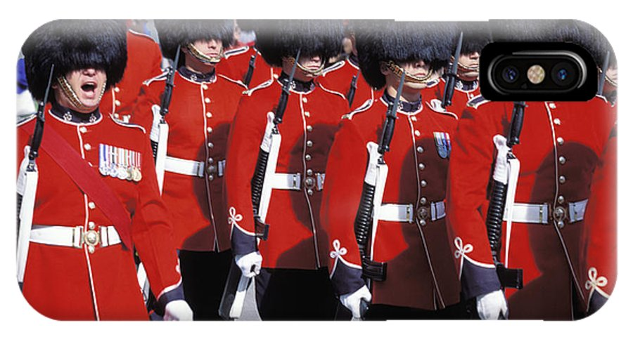 Soldiers IPhone X Case featuring the photograph Toy Soldiers by Carl Purcell