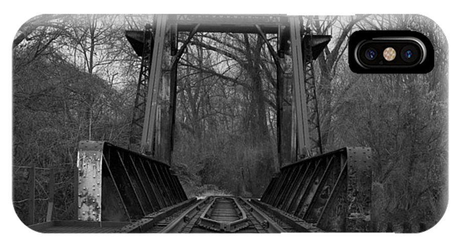 Tracks IPhone Case featuring the photograph Tracking The Past by Kelvin Booker