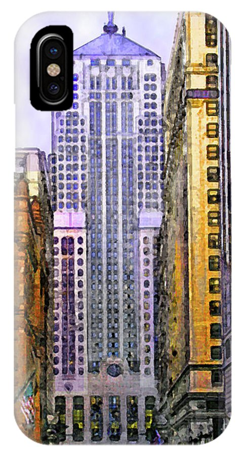 Trading Places IPhone X Case featuring the digital art Trading Places by John Beck