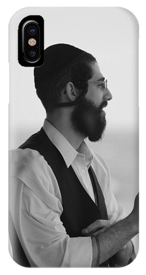 Black And White IPhone X Case featuring the photograph Tradition by Rob Hans
