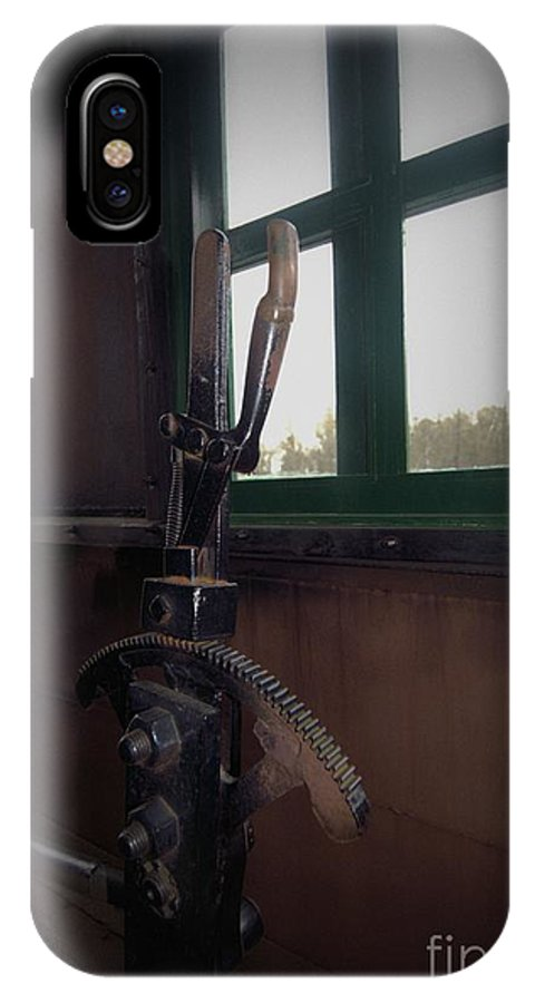 Train IPhone X Case featuring the photograph Trains 6 5a by Jay Mann