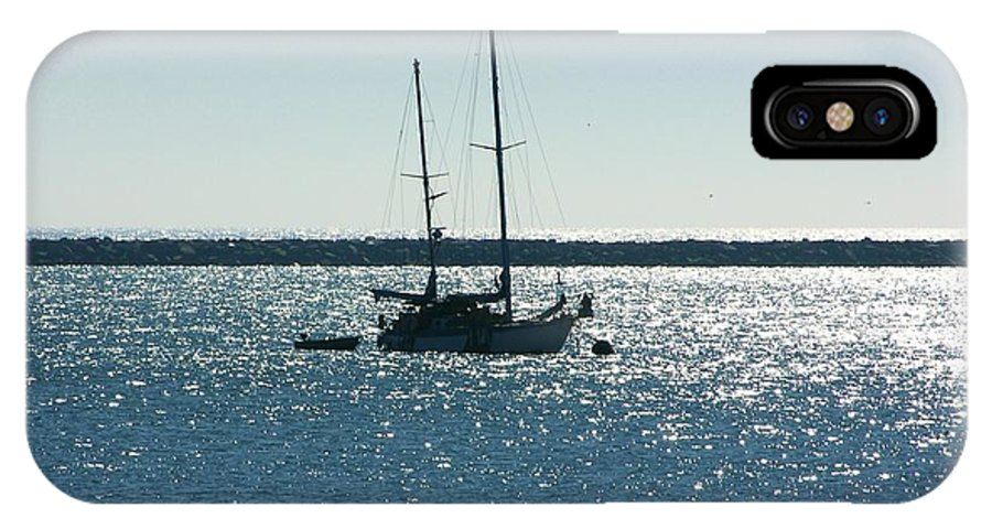 Seascape IPhone X Case featuring the photograph Tranquil Bay by Carol Groenen