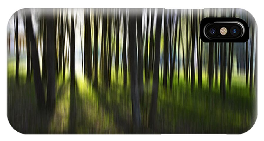 Trees Abstract Tree Lines Forest Wood IPhone Case featuring the photograph Tree Abstract by Sheila Smart Fine Art Photography
