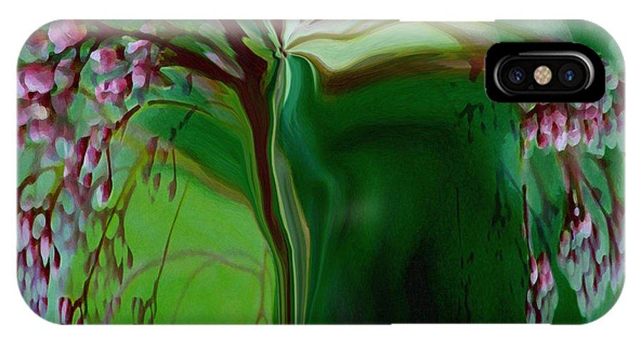 Tree Life Art IPhone Case featuring the digital art Tree Of Life by Linda Sannuti