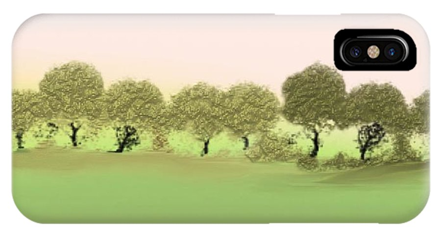 Tree IPhone Case featuring the painting Treeline by Gina Lee Manley