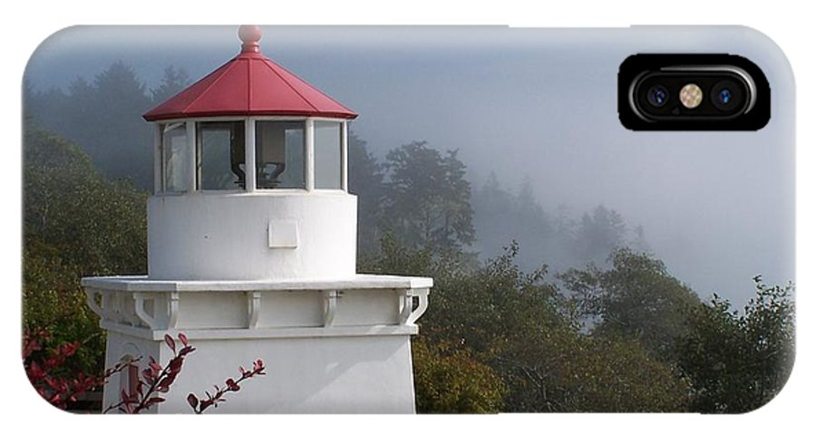Lighthouse IPhone Case featuring the photograph Trinidad Head Lighthouse by Gale Cochran-Smith