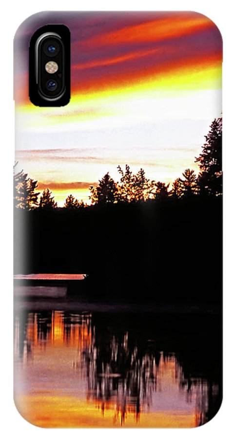 Landscape IPhone X Case featuring the photograph Tripping II by Steve Harrington