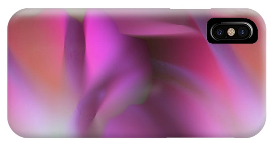 Flower IPhone X Case featuring the photograph Tropical Flower by Silke Magino