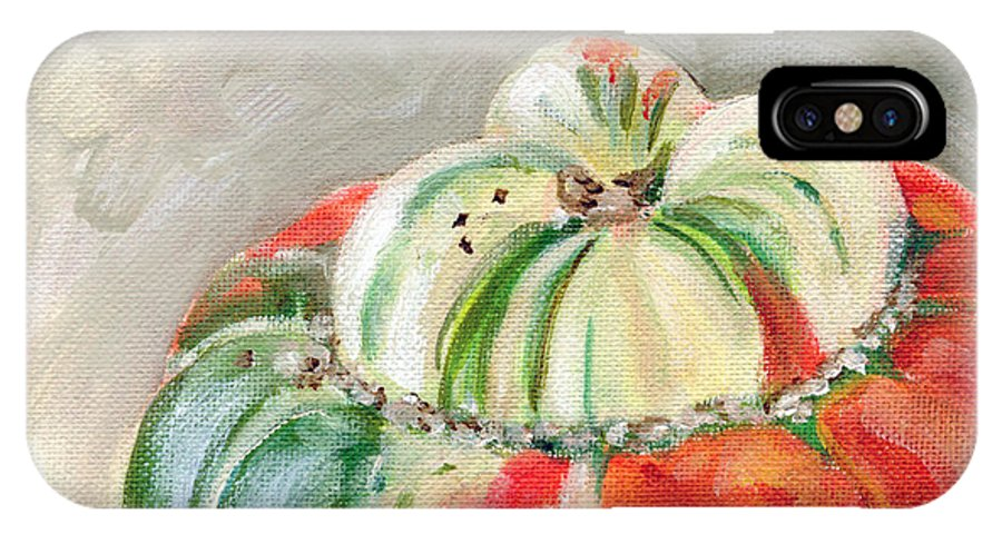 Still-life IPhone X Case featuring the painting Turks Turban by Sarah Lynch