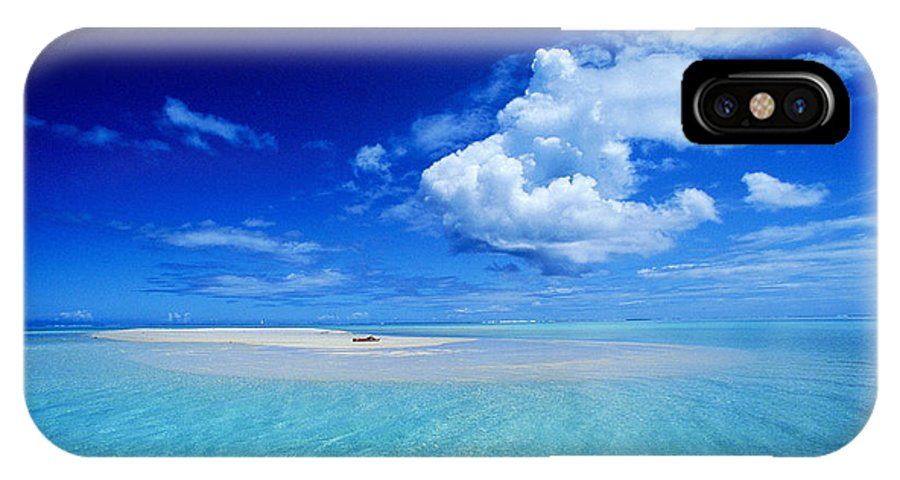Afternoon IPhone X Case featuring the photograph Turquiose Lagoon by Ron Dahlquist - Printscapes
