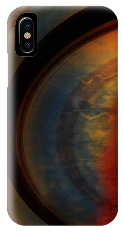 Tuscan IPhone X Case featuring the painting Tuscan by Jill English