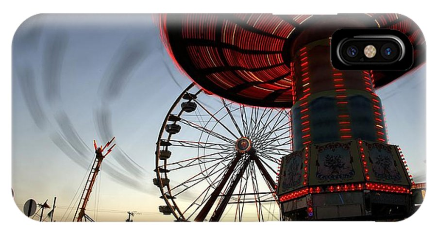 Fair IPhone X Case featuring the photograph Twirling Away by David Lee Thompson