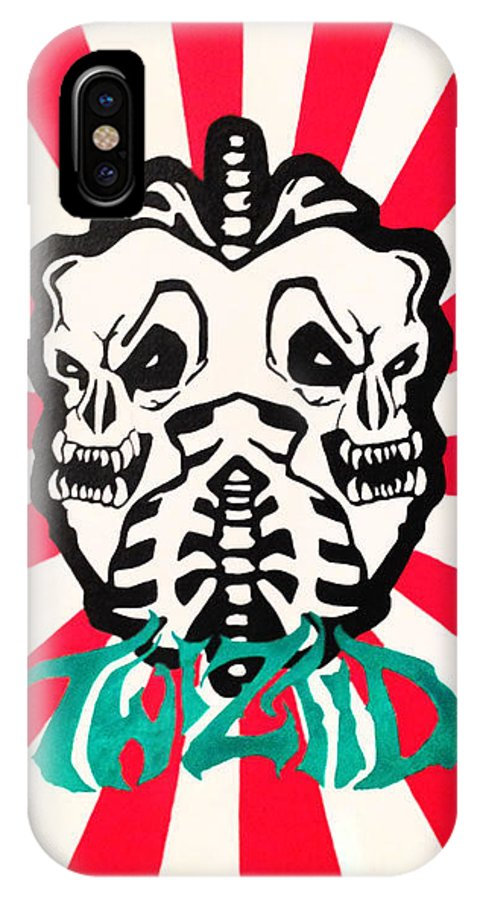 Twiztid IPhone X / XS Case featuring the painting Twiztid by Asylum