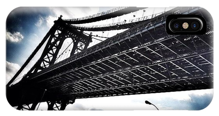 IPhone X Case featuring the photograph Under The Bridge by Christopher Leon