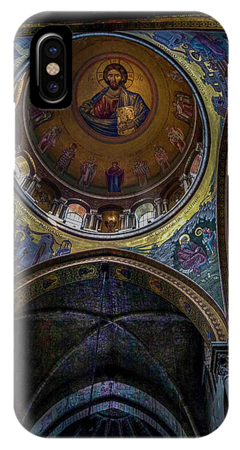 Endre IPhone X Case featuring the photograph Under The Dome by Endre Balogh