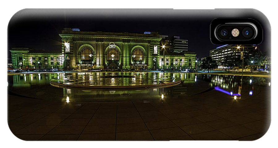 Union Station IPhone X / XS Case featuring the photograph Union Station K.c. by Scott McKay