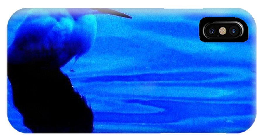 Egrets IPhone X Case featuring the photograph Unseen Chain Of Egret by Daniele Smith