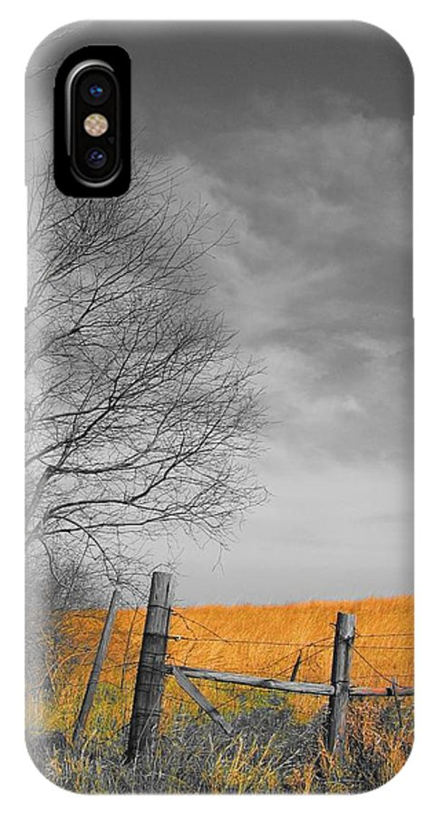 Landscape IPhone X Case featuring the photograph Untitled by Dylan Punke