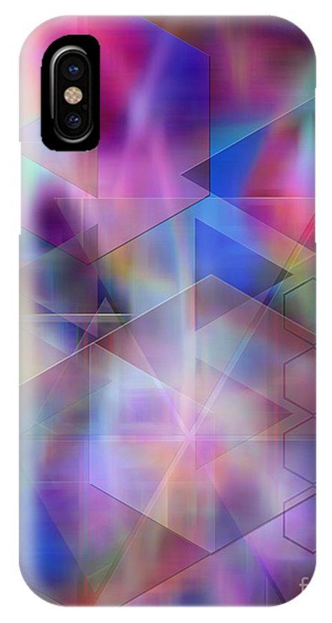 Usonian Dreams IPhone X Case featuring the digital art Usonian Dreams by John Beck