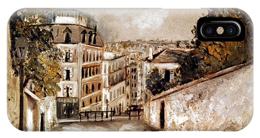 20th Century IPhone X Case featuring the photograph Utrillo: Montmartre, 20th C by Granger
