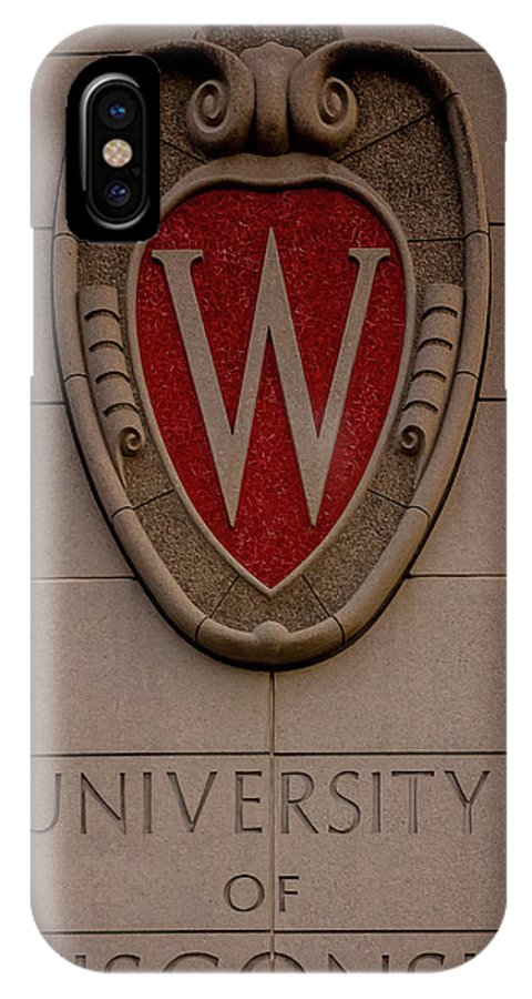 Uw IPhone X Case featuring the photograph UW by Rockland Filmworks