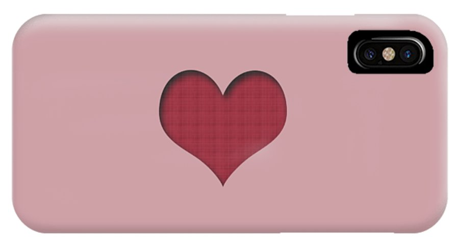 valentine Heart valentine's Day women's Fashion Fashion IPhone X / XS Case featuring the photograph Valentine Heart by Bill Owen