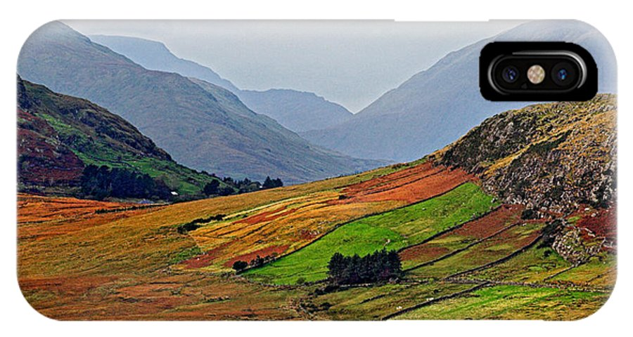 Valley IPhone X Case featuring the photograph Valley Of Colors by Pierre Leclerc Photography