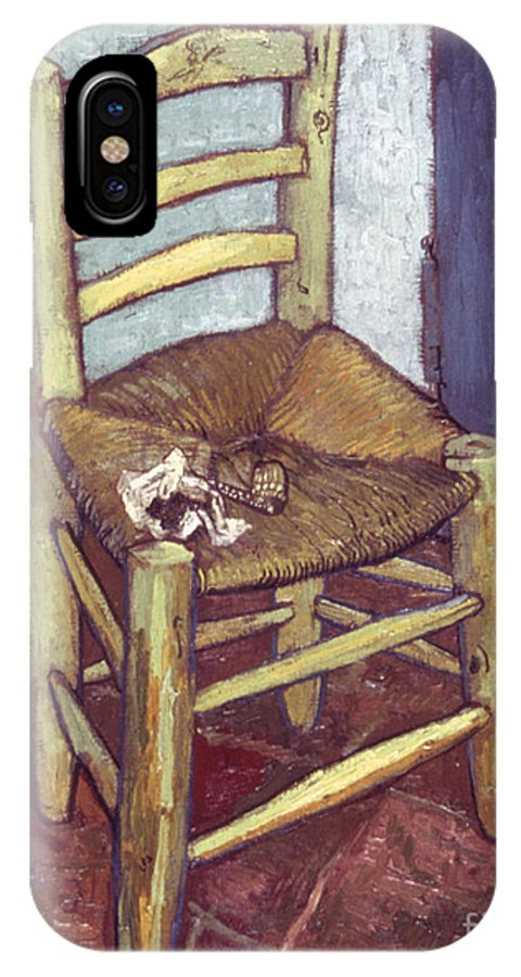 1888 IPhone X Case featuring the photograph Van Gogh: Chair, 1888-89 by Granger