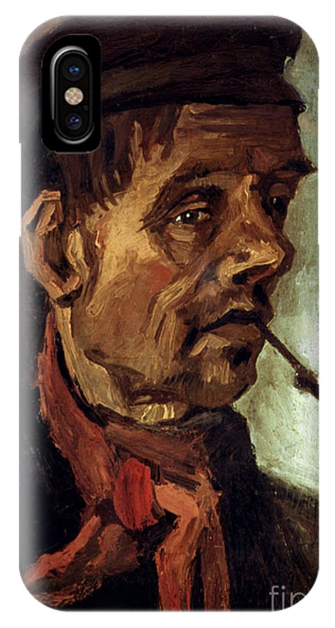 1884 IPhone X Case featuring the photograph Van Gogh: Peasant, 1884 by Granger