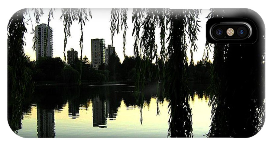 Vancouver IPhone X Case featuring the photograph Vancouver- Lost Lagoon by Will Borden
