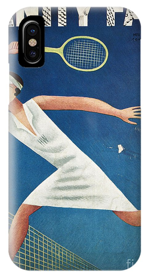 1932 IPhone X Case featuring the photograph Vanity Fair, 1932 by Granger
