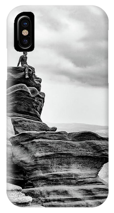 Landscape IPhone X Case featuring the photograph Vantage Point by Nick Bywater