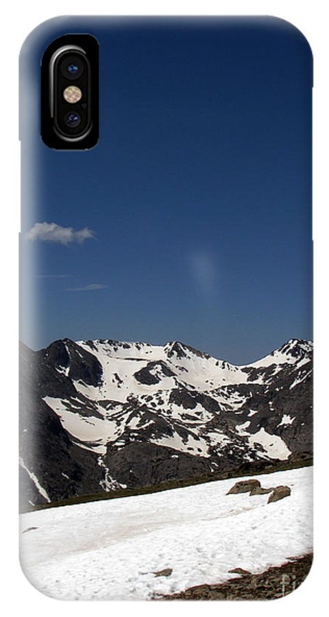 Colorado IPhone X Case featuring the photograph Vast Mother by Amanda Barcon