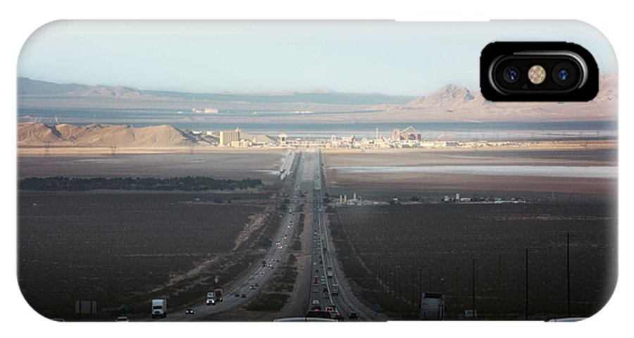Road Trip IPhone X Case featuring the photograph Vegas Here We Come by Gravityx9 Designs