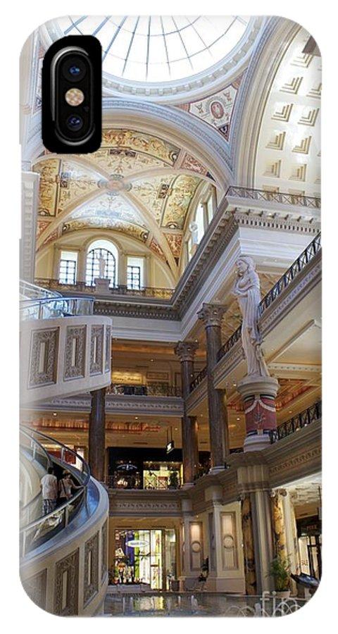Cesar's Palace. Las Vegas IPhone X Case featuring the photograph Vegas Luxury by Alanna DPhoto