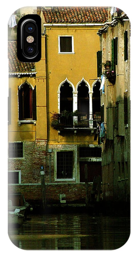 Venice IPhone Case featuring the photograph Venetian Gold by Donna Corless