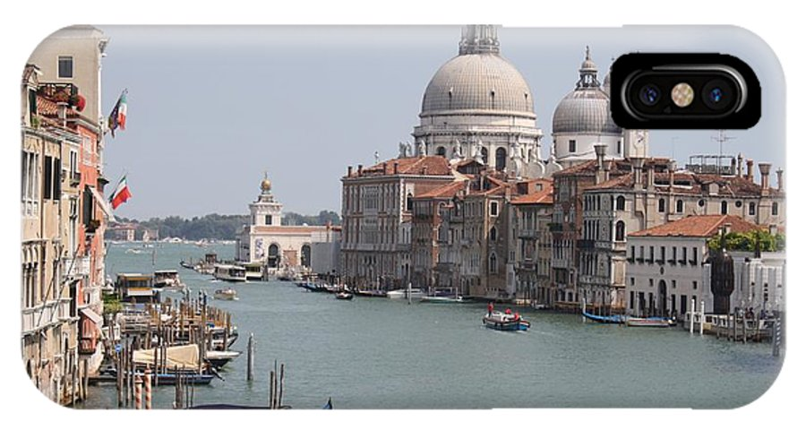 Italy IPhone X / XS Case featuring the photograph Venice The Beaufiful by Evelyne Gaudin