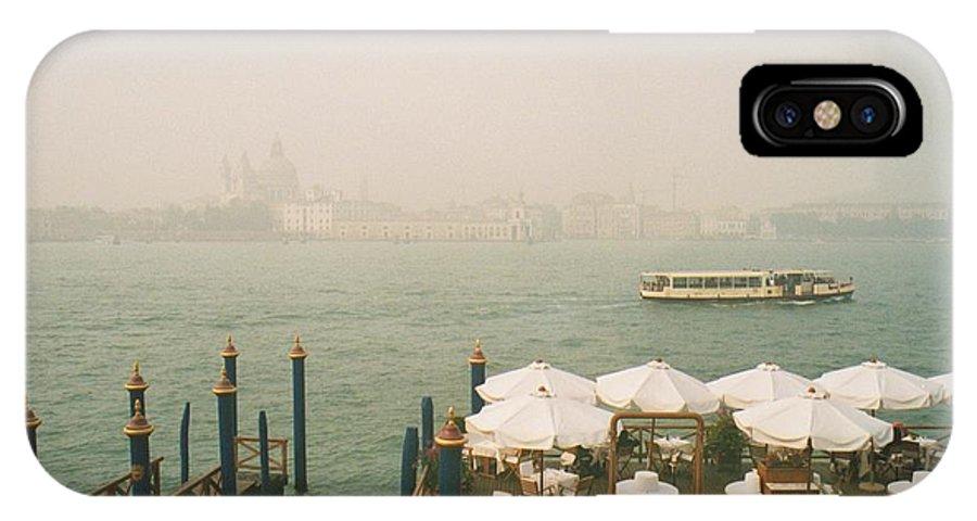 Venise IPhone X Case featuring the photograph Venise by Jan Daniels