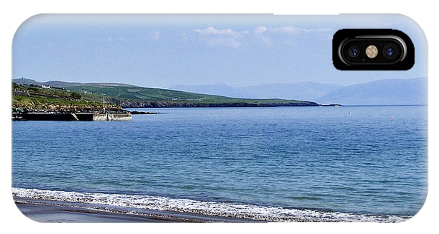Irish IPhone X Case featuring the photograph Ventry Harbor On The Dingle Peninsula Ireland by Teresa Mucha