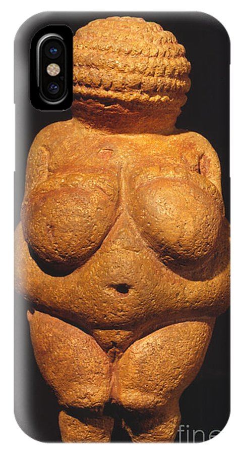 Ancient IPhone X Case featuring the photograph Venus Of Willendorf by Granger