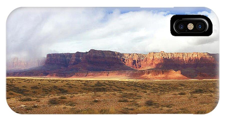 Arizona IPhone X Case featuring the photograph Vermillion Cliffs by Carol Milisen