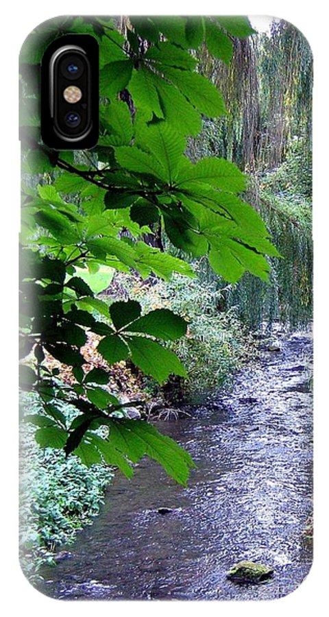 Vernon Creek IPhone X Case featuring the photograph Vernon Creek by Will Borden