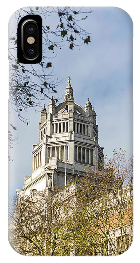 Victoria And Albert Museum IPhone X Case featuring the photograph Victoria And Albert Museum London by Alex Art and Photo