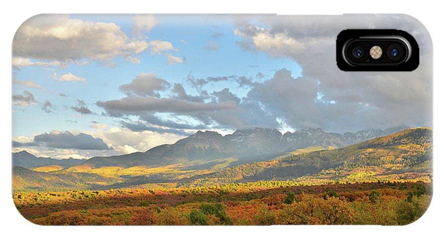 Colorado IPhone X Case featuring the photograph View From Dallas Divide by Ray Mathis