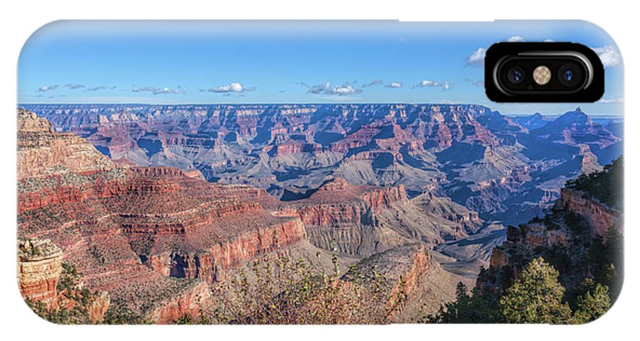Arizona IPhone X Case featuring the photograph View From The South Rim by John M Bailey