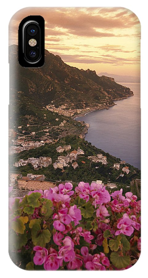 Europe IPhone X / XS Case featuring the photograph View Of The Coastline From The Hotel by Richard Nowitz