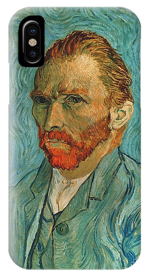 19th Century IPhone X Case featuring the photograph Vincent Van Gogh (1853-1890) by Granger