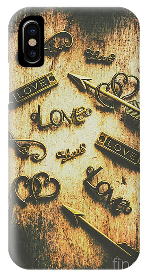 Mixed IPhone X Case featuring the photograph Vintage Romance by Jorgo Photography - Wall Art Gallery