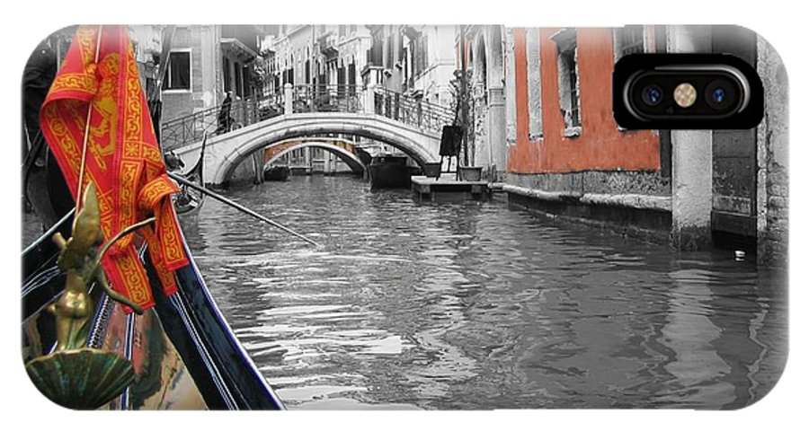 Cityscape IPhone X Case featuring the photograph Voyage Of Venice by Dylan Punke