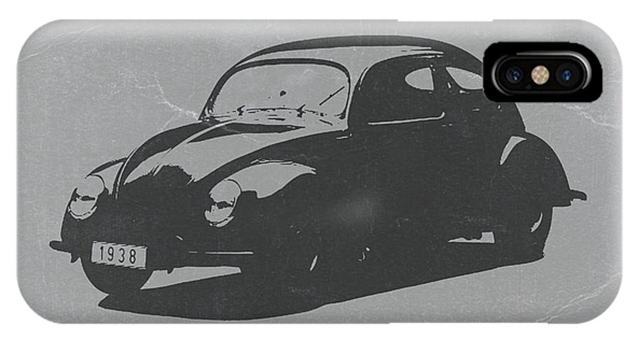 Vw Beetle IPhone X Case featuring the photograph Vw Beetle by Naxart Studio